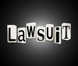 being sued and bankruptcy