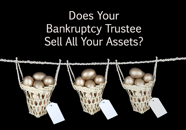 does bankruptcy trustee sell all my assets