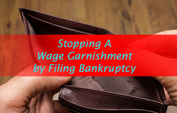 how to stop your wages from being garnished