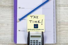 Canada taxes bankruptcy