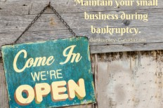 bankruptcy small business debts