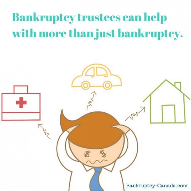 manage debt bankruptcy trustee