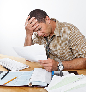 Stress over causes of bankruptcy