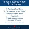 stop wage garnishment in Canada