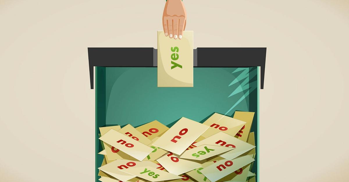 what happens if creditors vote no proposal